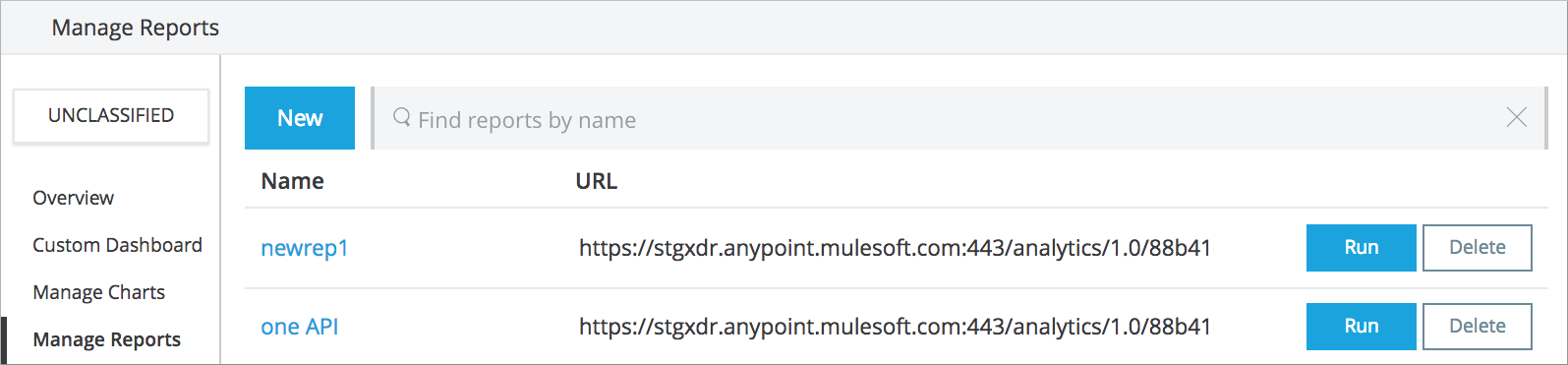 Reviewing Analytics Event API   MuleSoft Documentation