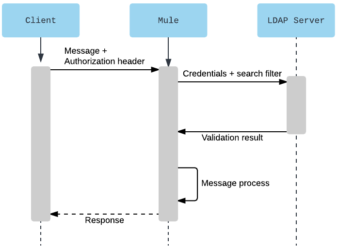 Basic Authentication: LDAP Policy | MuleSoft Documentation