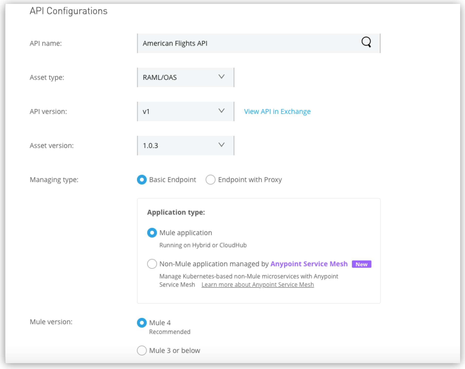 Building a RAML/OAS API Proxy | MuleSoft Documentation