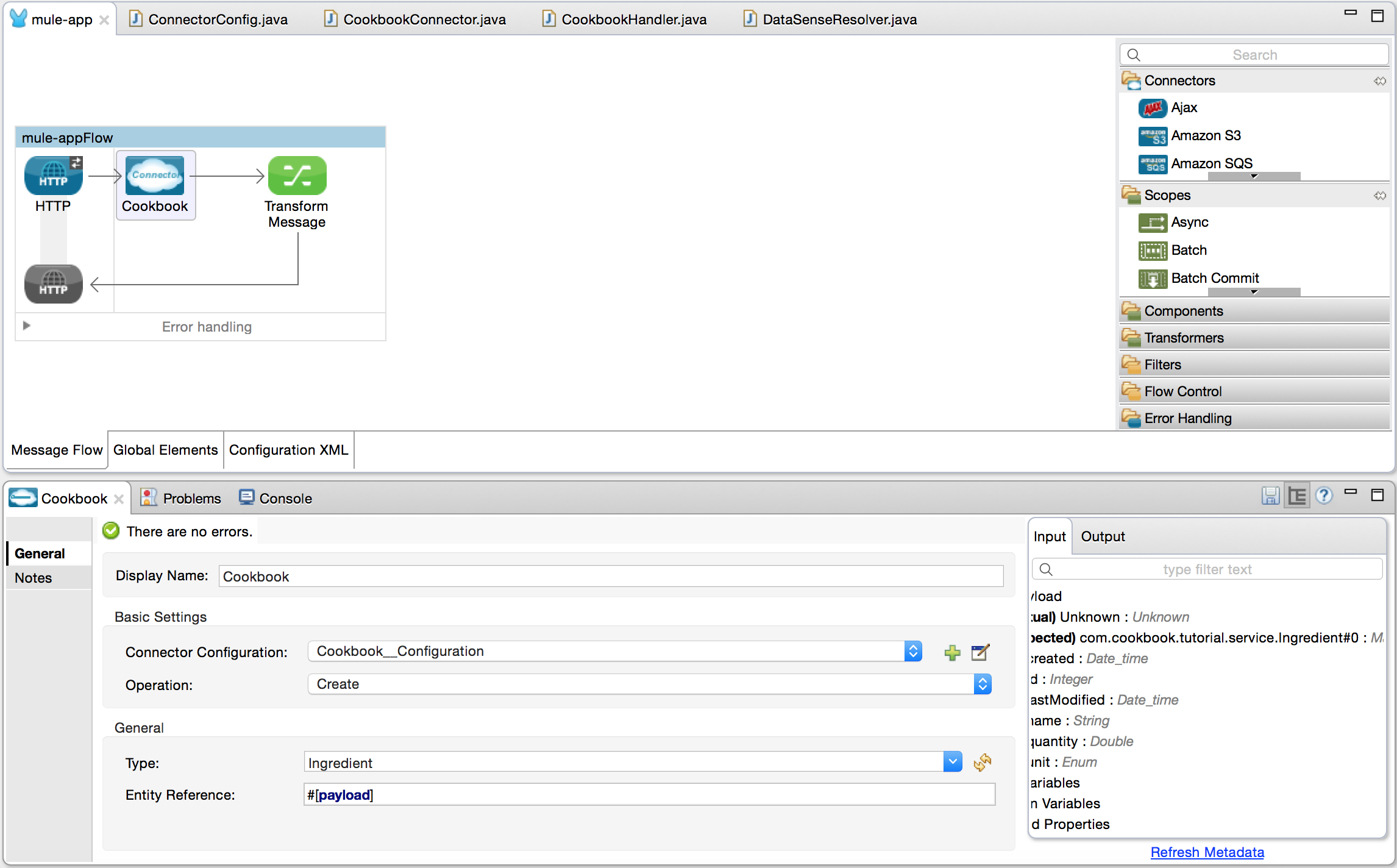 Anypoint Connector DevKit Tutorial | MuleSoft Documentation
