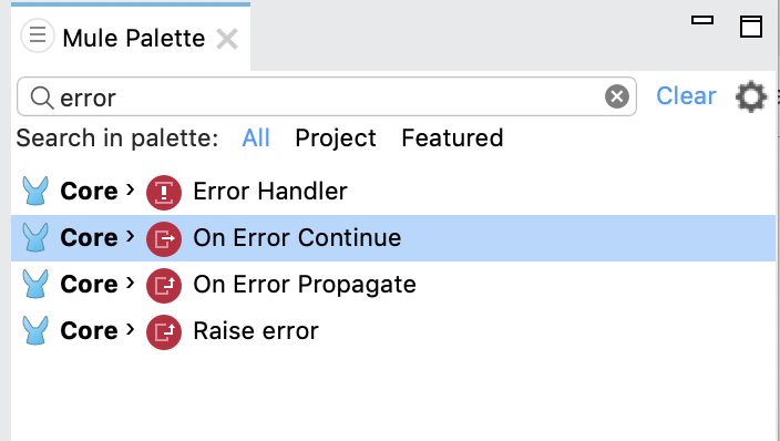 On-Error Error Handlers | MuleSoft Documentation