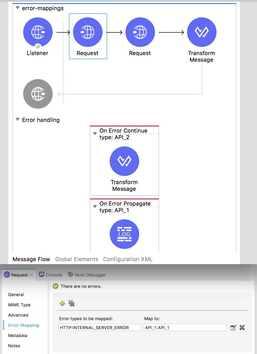 Introduction to Mule 4: Error Handlers | MuleSoft Documentation