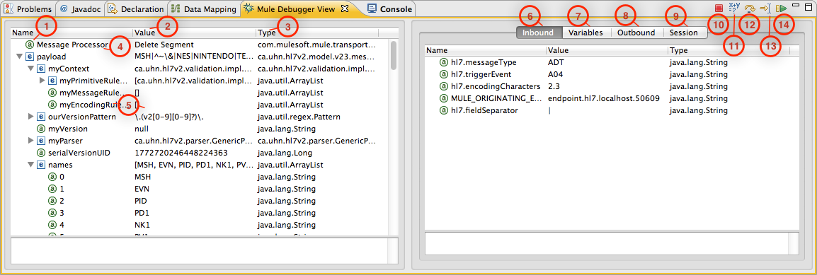 Studio Visual Debugger | MuleSoft Documentation
