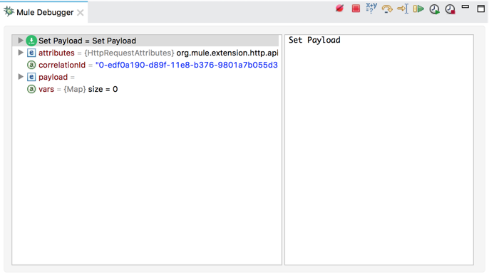 Mule Debugger View Reference   MuleSoft Documentation